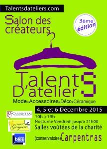 flyer recto salon créateur 2015