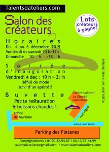 flyer verso salon créateur 2015